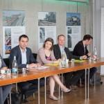 Gruenderversammlung des Soja Netzwerk Schweiz am 10. Mai 2016 in Basel. Das Soja Netzwerk Schweiz setzt sich fuer den Anbau und die Vermarktung von verantwortungsbewsusst produzierter Soja ein. Zu diesem Zweck haben sich Soja-Beschaffer, Produzentenverbaende, Umweltorganisationen, Hersteller und Detailhaendler zusammengeschlossen. (PHOTOPRESS/Matthias Willi)
