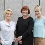 Foto © Erika Mayer, v.l.n.r.: Susanne Tiefenbacher, Christa Gürtler und Valerie Besl